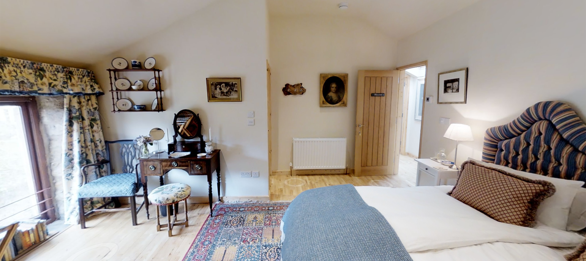 farmhouse B+B in North Devon