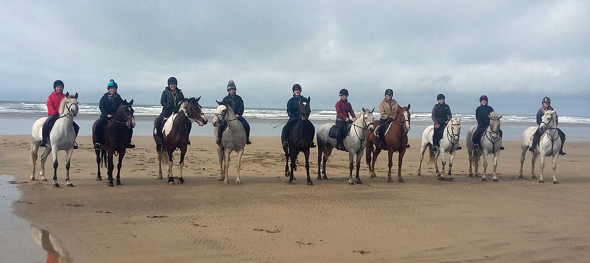 north devon beach riding holidays
